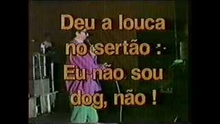 ROBERTO BULHÕES - CANTOR FALCÃO NO AQUI AGORA - 1ª MATÉRIA