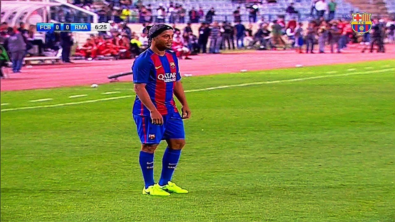 The Day Ronaldinho Showed He Left Barcelona Too Early
