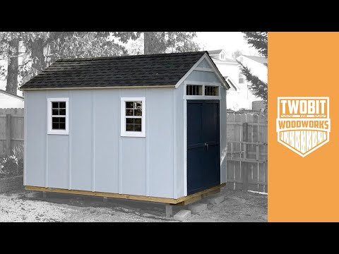 How to Build a Shed – Recap | Home Improvement DIY