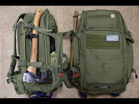 La Police Gear Atlas 72 Hour Tactical Backpack Review