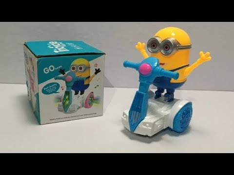 Minion Electric Tricycle Battery Operated toy with Light \u0026 Music