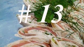 РУЛЕТ ИЗ ЛАВАША С ЛОСОСЕМ по рецепту дяди Яши  Рулет из лаваша и красной рыбы