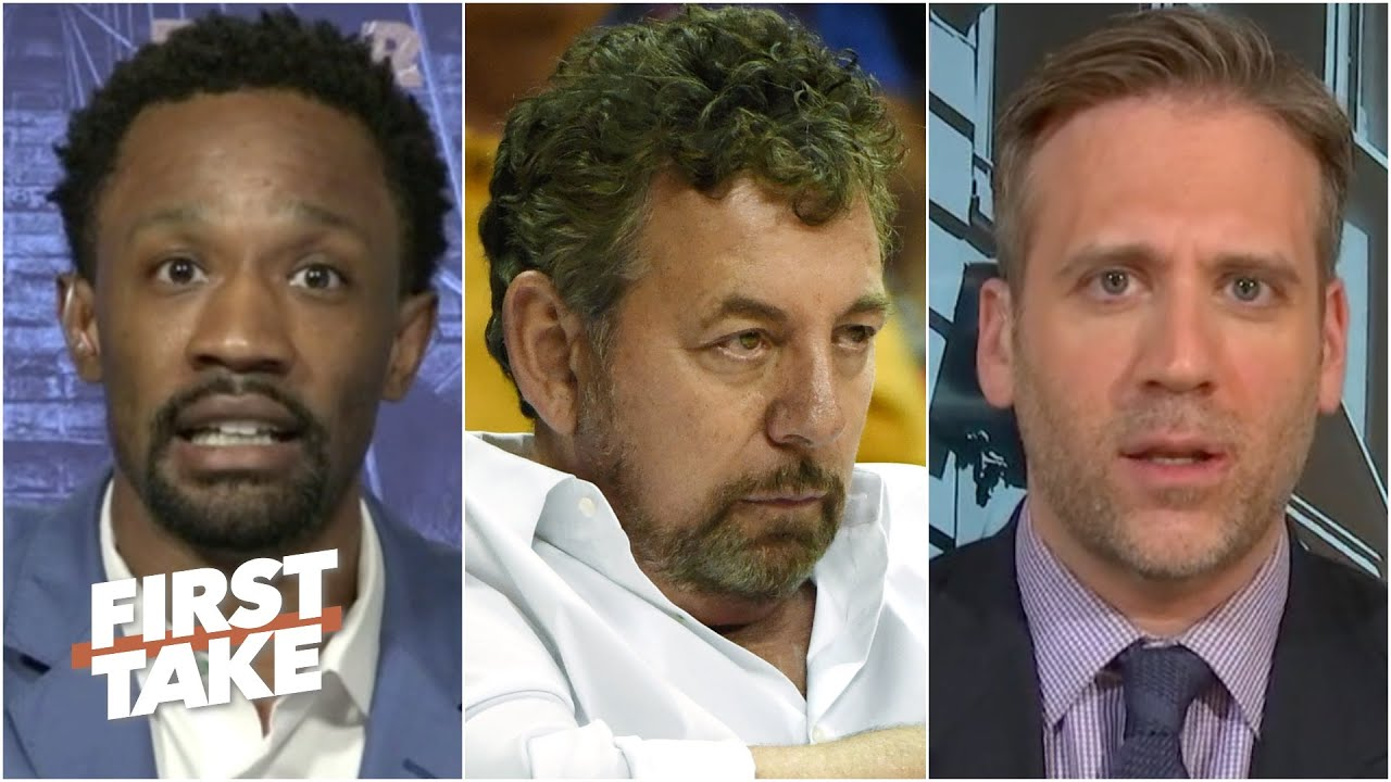 First Take reacts to the Knicks' statement calling for a just & equal society