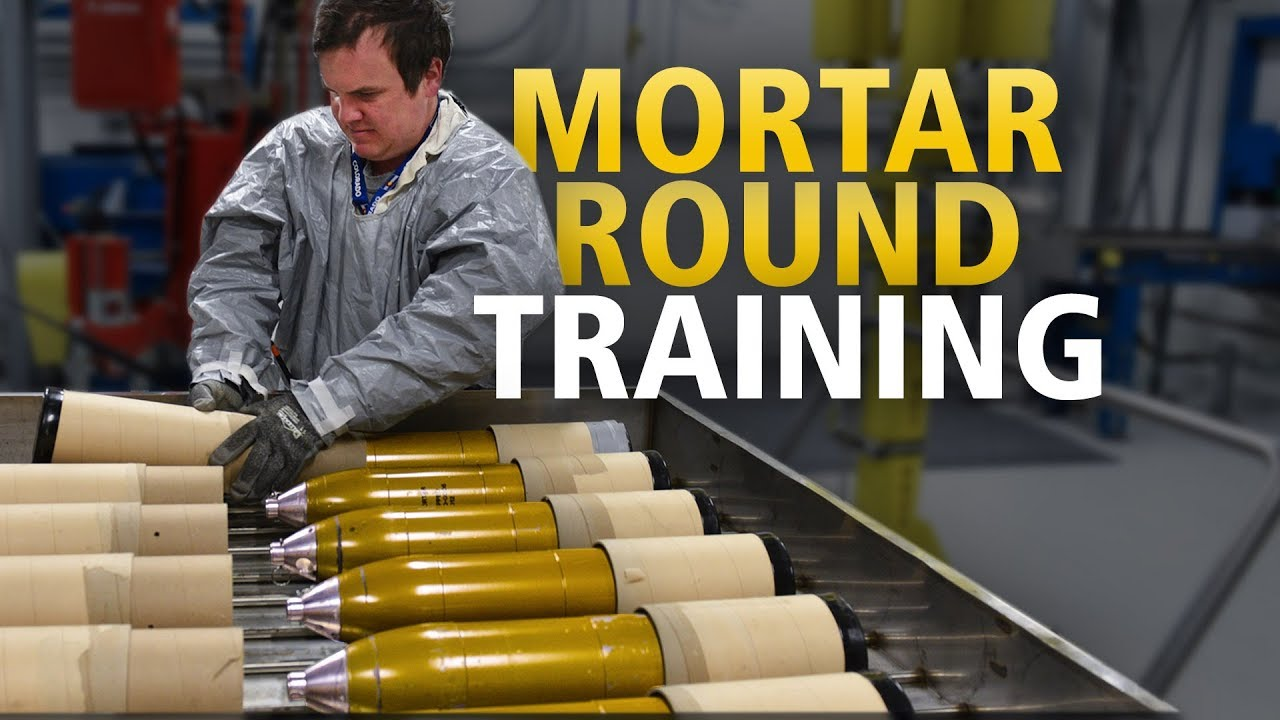 Reconfiguration Team Prepares for 4 2-inch Mortar Rounds Campaign