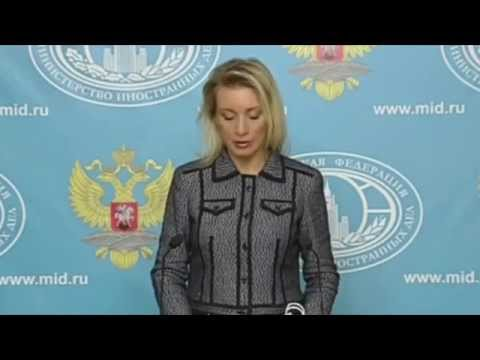 Maria Zakharova Russia
