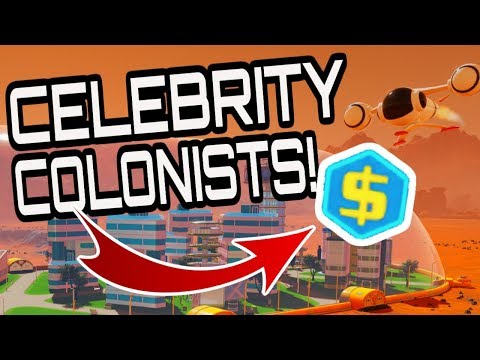 HOW TO START A COLONY & GET CELEBRITY COLONISTS!! #2 Surviving Mars Gameplay