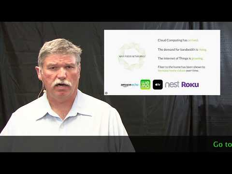 CenturyLink Fiberhoods presentation on benefits of having fiber service in Orange Beach, Alabama