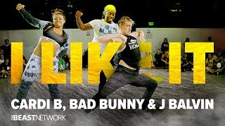 I Like It - Cardi B, Bad Bunny, J Balvin | Choreography by Willdabeast 2018