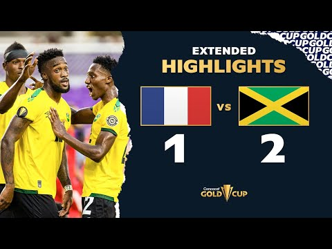 Extended Highlights: Guadeloupe 1-2 Jamaica  Gold Cup 2021