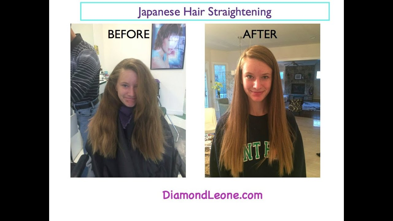 What Is Japanese Hair Straightening