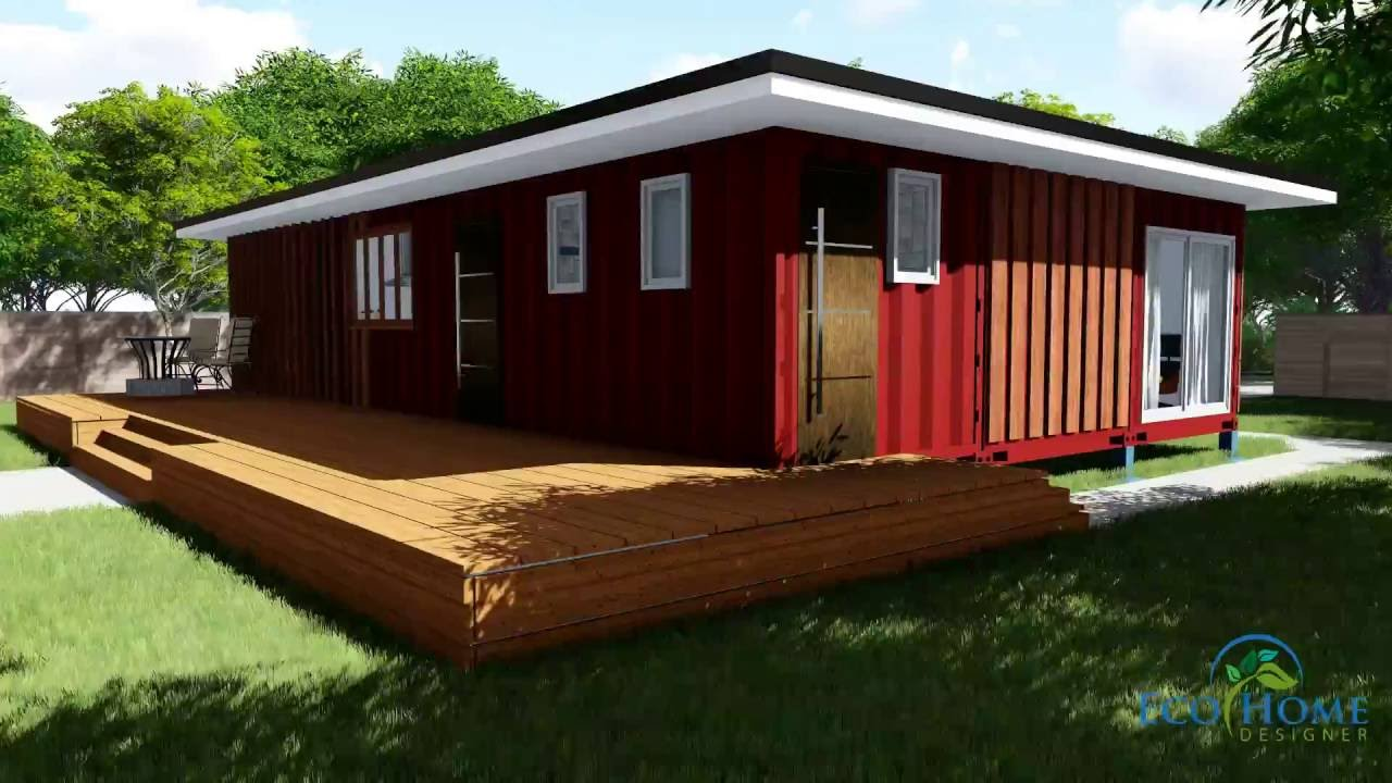 Sch11 3 x 40ft 2 bedroom container home video youtube - 40ft shipping container home ...