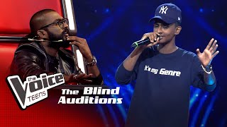 Sasindu Raveen | Abhi Mujh Mein Kahin | Blind Auditions |The Voice Teens Sri Lanka