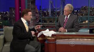 Magician Steve Cohen On David Letterman