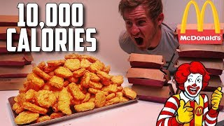 THE 200 CHICKEN MCNUGGET CHALLENGE (WORLD RECORD ATTEMPT)