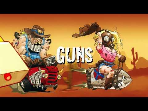 EXTIZE - Guns, Gasoline & Cowbell (Official Lyrics Video)