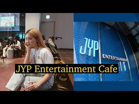 Visit To JYP Entertainment NEW Soul Cup Cafe