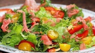 Японский салат с имбирем.