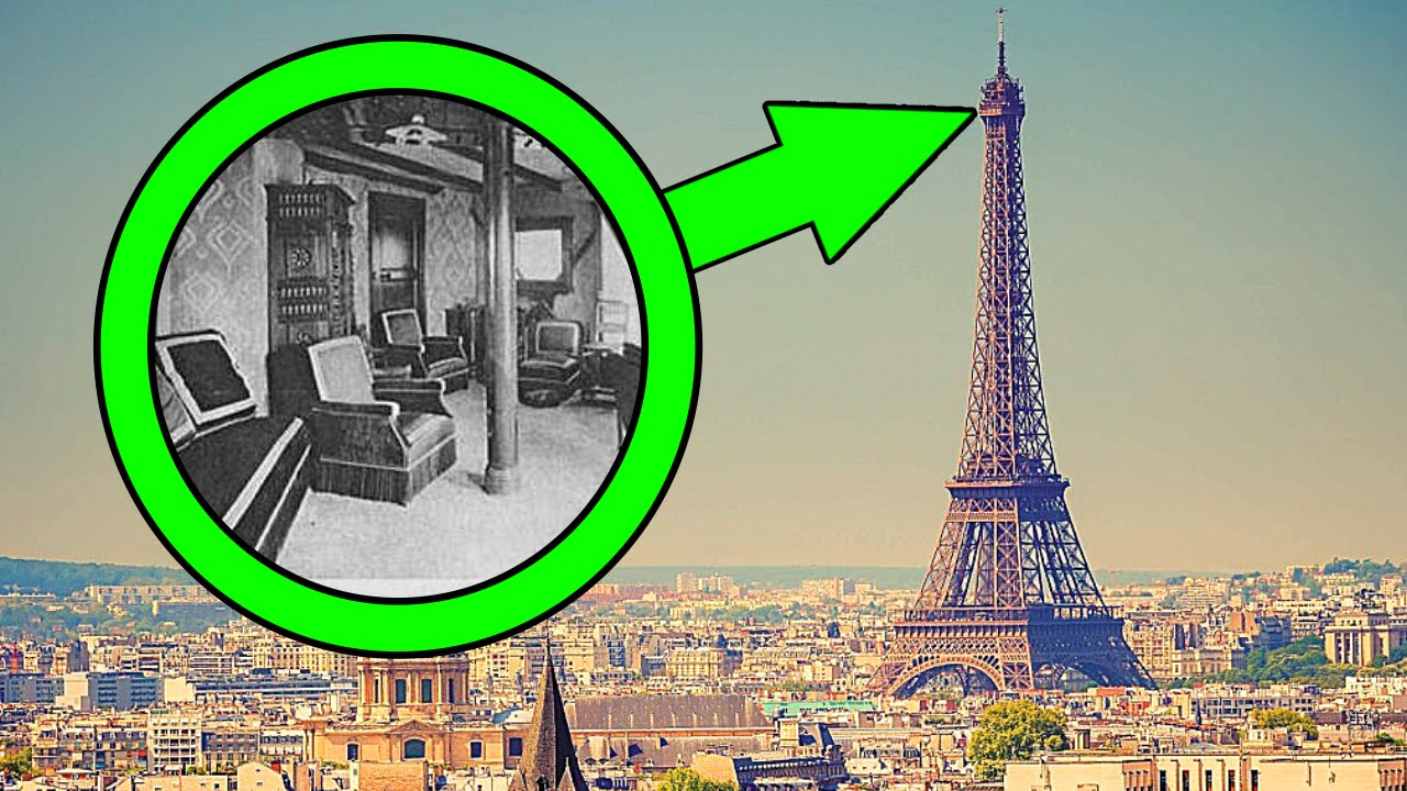 7 secret places hidden in plain sight youtube Eiffel tower secret room