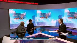 Paul Chowdhry Questioned about a Murder Suspect on South African News!