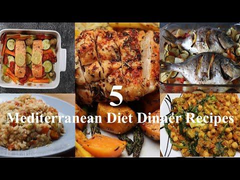 Mediterranean Diet | 5 Dinner Recipes | A&A Homemade