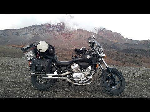 Южная Америка на мотоцикле - пейзажи Колумбии.