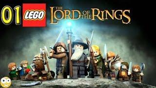 LEGO O Senhor dos Anéis PC Gameplay Parte 1 - Sem Comentários (No Commentary) PT-BR