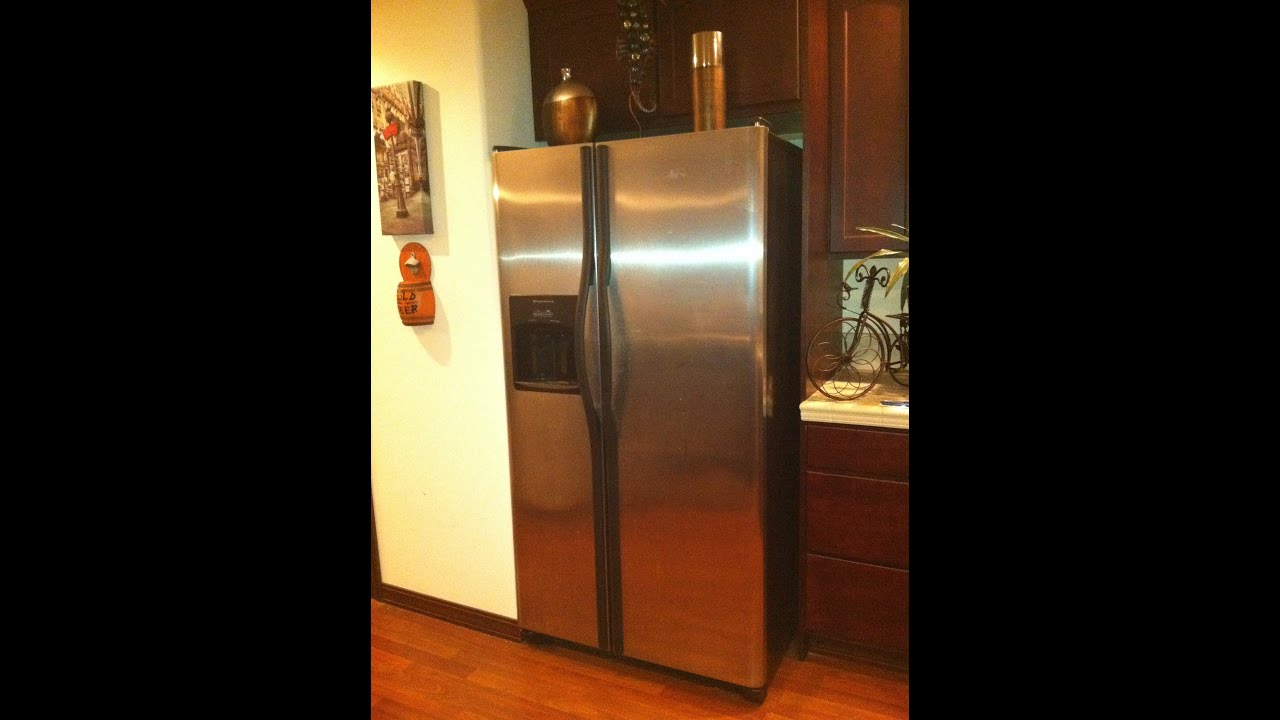 Haunted Frigidaire Refrigerator Makes Crazy Noises