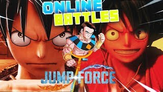 🔥LUFFY es INVENCIBLE|DESTROZANDO con LUFFY en COMBATES ONLINE 🔥Jump Force