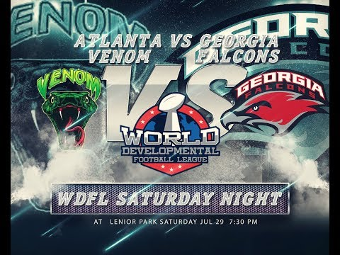 WDFL ATLANTA Venom vs Georgia Falcons July 29 2017 WK 4