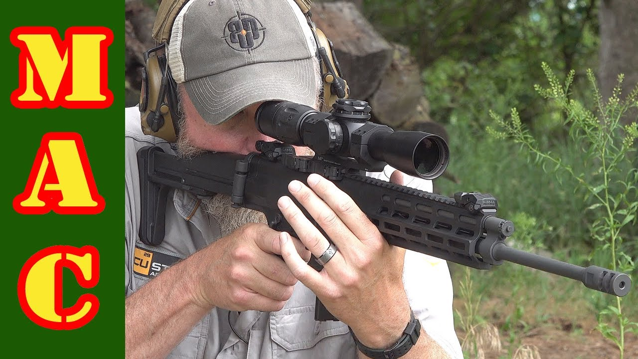 The Robinson Armament XCR-L rifle: American ingenuity.