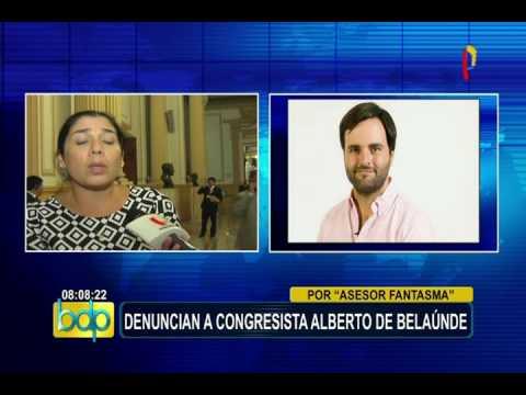 Comisión de Ética: denuncian a congresista Alberto de Belaunde