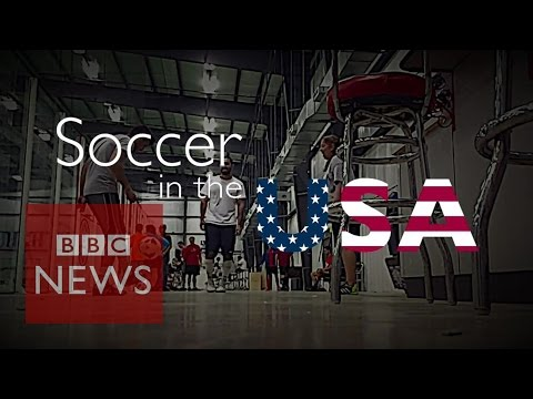 Football (soccer) seen as