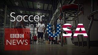 Football (soccer) seen as