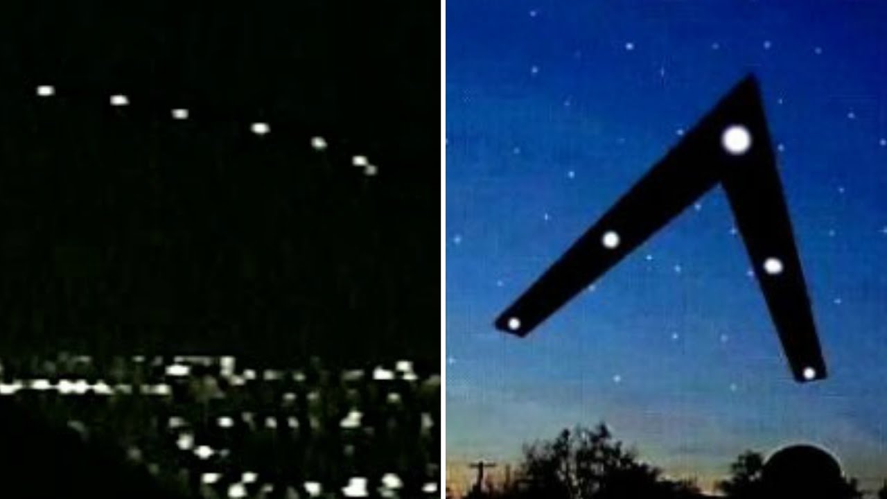 The Phoenix Lights With Triangular Formations U0026 Thousands Of Witnesses In  1997   FindingUFO   YouTube