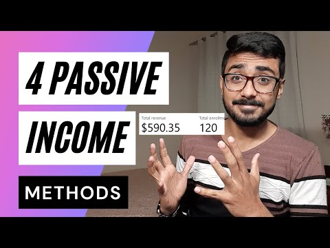 4 Passive Income Ways To Make Money Online | Earn Money Online 2021 | Make Money Online 2021