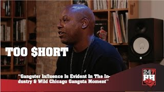 Too $hort Chicago Is A Gangsta City For Real (247HH Wild Tour Stories)