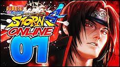 DER NINJA KRIEG GEHT LOS! - #01 - Naruto Shippuden: Ultimate Ninja Storm 4 ONLINE BATTLE