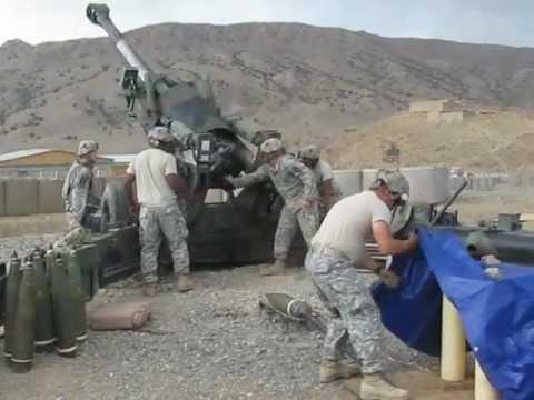 Combat counterfire artillery