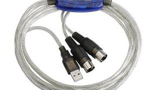 MIDI to USB cable Review