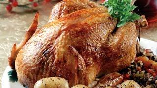 Как запечь курицу с рисом