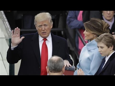 At Trump Inauguration, Pomp and Ceremony