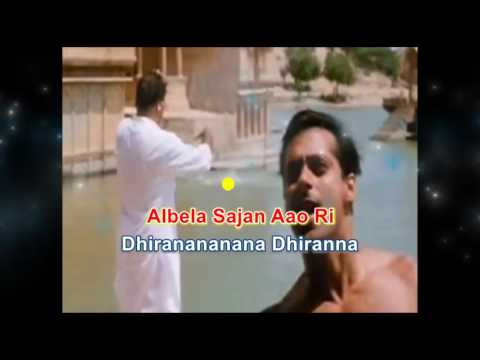 Albela Sajan Aayo Ri Karaoke