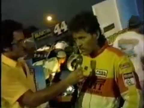 Mike Sargent - Interview - San Jose Speedway - (1988)