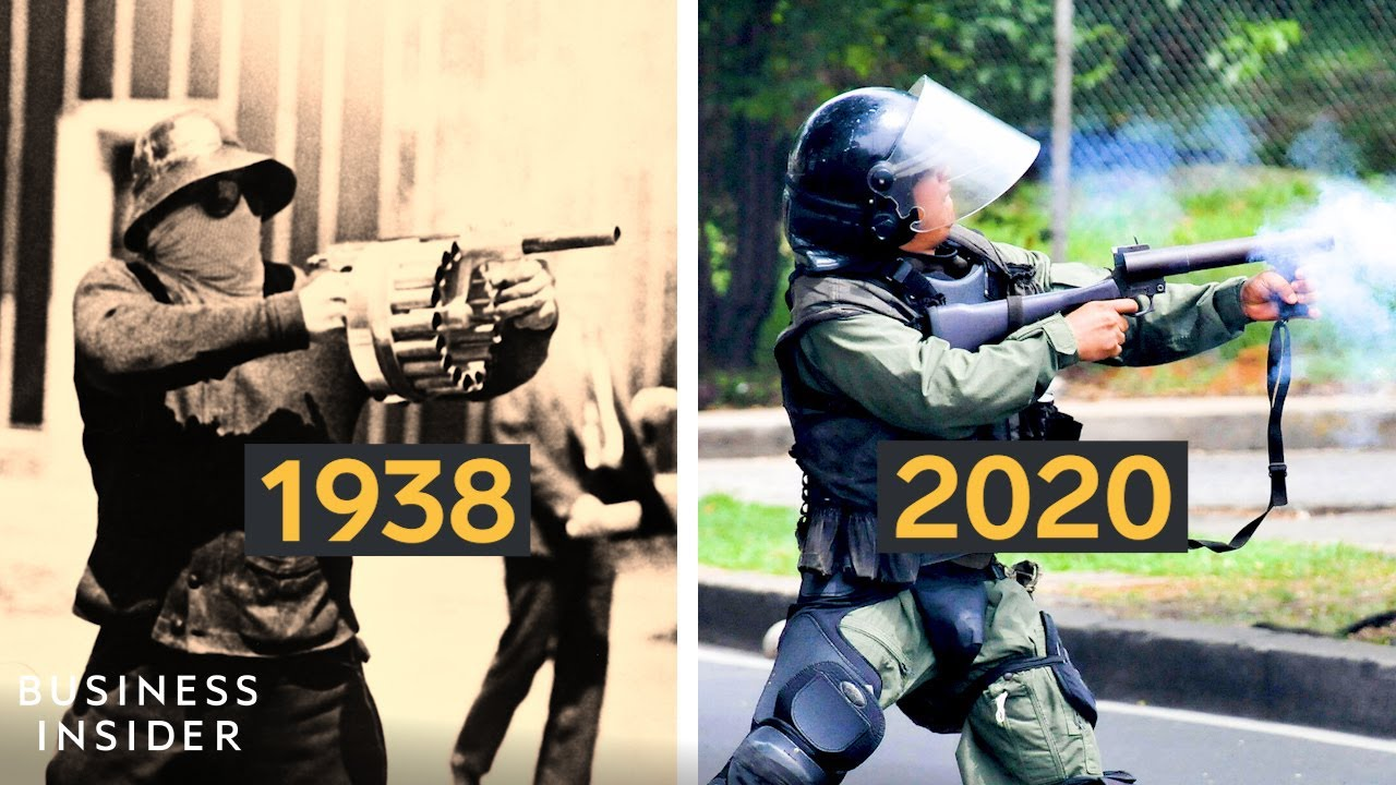 The Rise Of Tear Gas