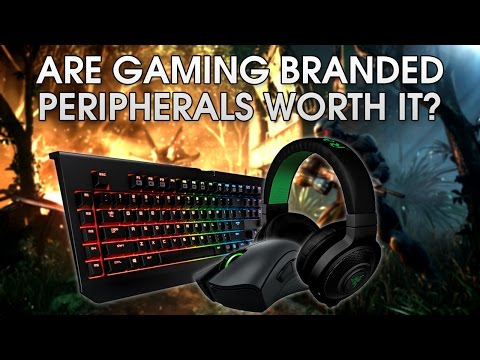 Are Gaming Branded Peripherals Worth It? | Mouse, Keyboard, Headset, Controller...