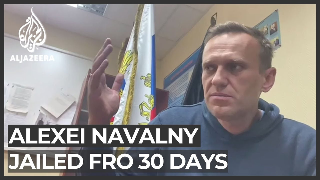 Alexei Navalny: 'More than 3000 detained' in protests across Russia