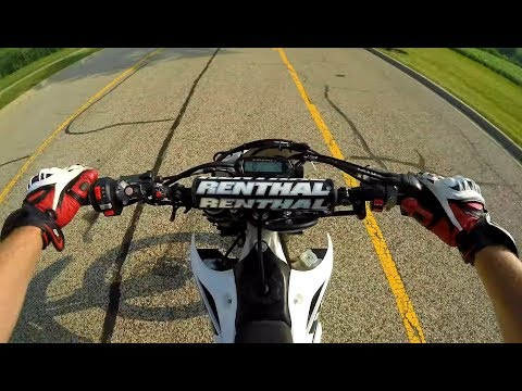 How To Do A Burnout On A Dirt Bike