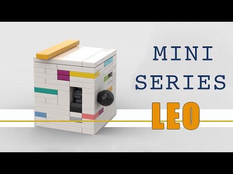 Design Series Minis: LEO Lego Puzzle Box