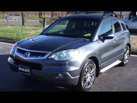 Acura RDX Turbo SHAWD Walkaround Start Up Tour And Overview - Acura 2007 rdx