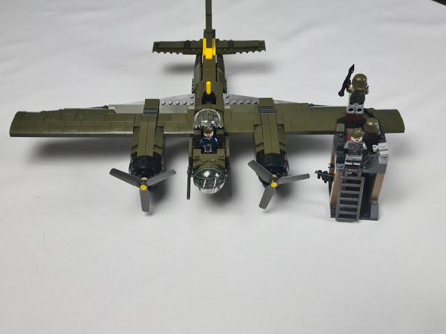 Sembo Ju-88  Schönes Flugzeug und eine nette Beigabe